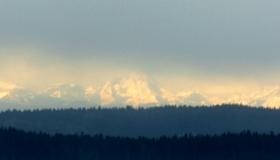 Pohled na Alpy